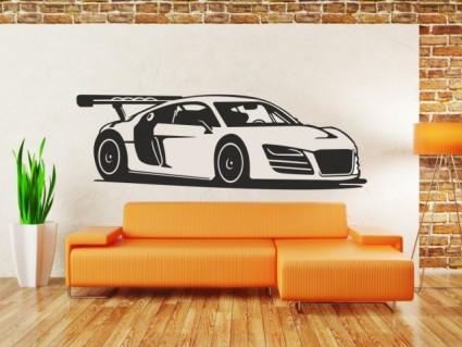 Samolepky na zeď - Audi R8 | dekorace-steny.cz